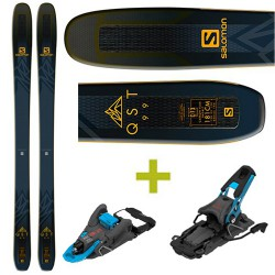 Packs QST 99 Skis Salomon + Shift Fixations Salomon