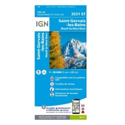 TOP 25 ST GERVAIS MT BLANC IGN