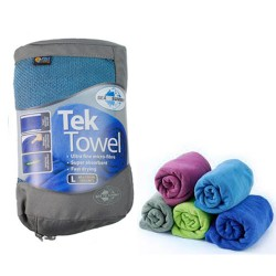 TEK TOWEL M 100X50 BOUCLETTE SEA TO SUMMIT